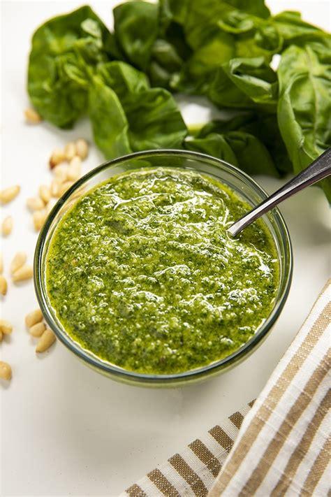 Best Pesto Sauce Recipe Pesto Recipe The Salty Marshmallow