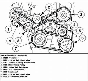 Diagram  2002 Ford Focus Serpentine Belt Diagram