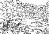 Coloring Narnia Stream Wardrobe Chronicles River Drawing Printable Designlooter Drawings Draw Pevensie Floating Getdrawings 28kb 422px sketch template
