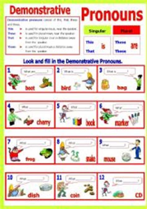 demonstrative pronouns clipart  clipart station