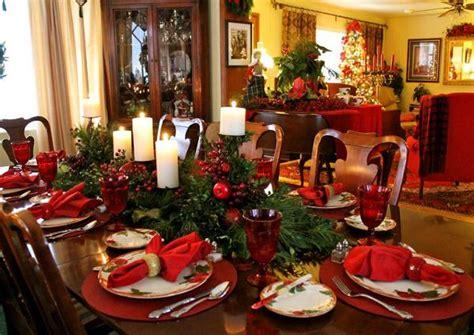 elegant  stylish christmas table decorations