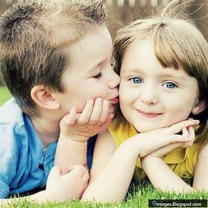 Kiss Kids Little Couple Cute Beautiful Adorable Small ...
