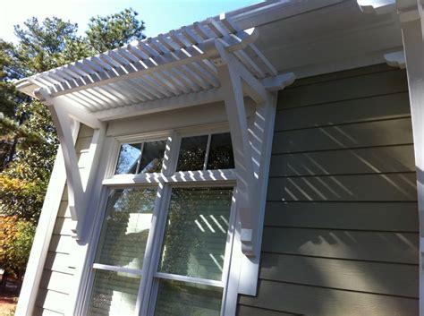 pergola window awning mobile home exteriors windows exterior diy front porch