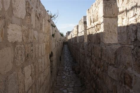 www wall de walking atop the walls of jerusalem the times of israel