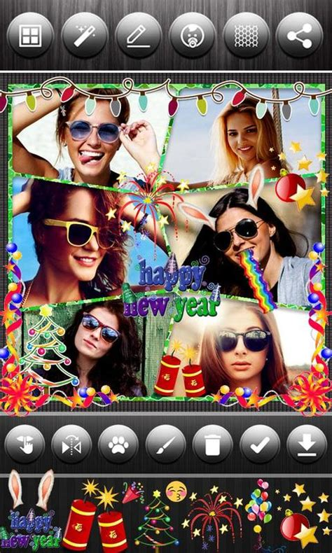 happy  year photo collage   android apk