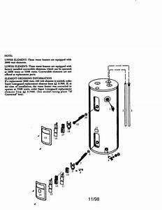 Kenmore 153316552 Electric Water Heater Parts