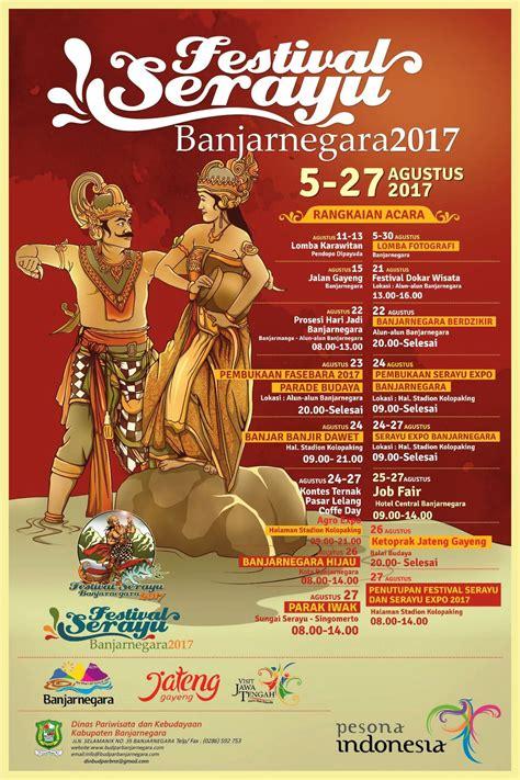 festival serayu banjarnegara  budaya pesona wisata