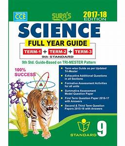9th Standard Guide Science Full Year English Medium