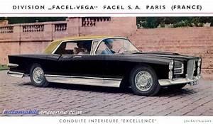 Facel Vega Prix : l histoire de facel vega l 39 automobile ancienne ~ Medecine-chirurgie-esthetiques.com Avis de Voitures