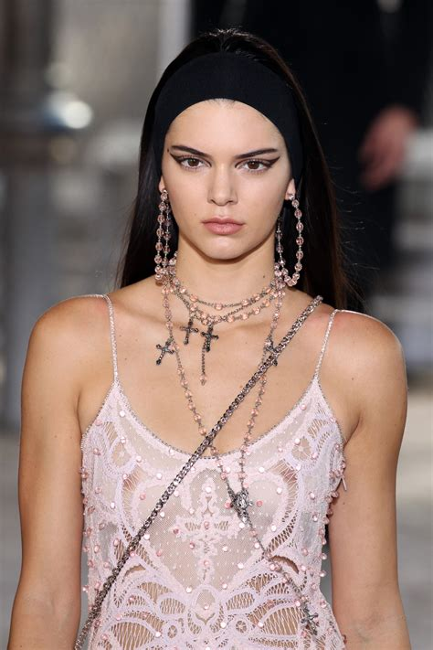 Kendall Jenner Has Added Some Bling To Her Nipple Global