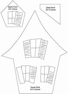 Haunted House Template Printable | ASSEMBLE the small ...