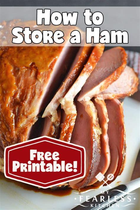 ham way freeze myfearlesskitchen fearless keep kitchen