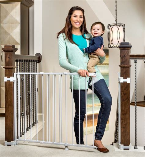 regalo dual banister baby gates  stairshousehold