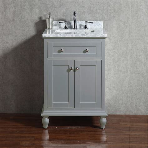 """Yasmine Floor Mount 24"""" Vanity  Freestanding Bathroom"""