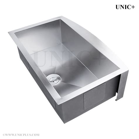 16 stainless steel kitchen sink 33 inch zero radius stainless steel farm apron kitchen 8965