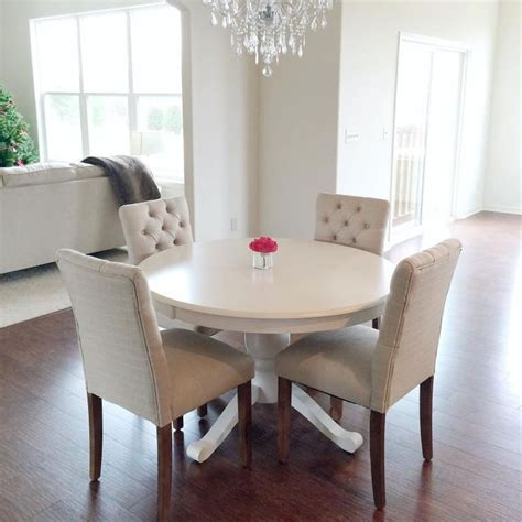 White Dining Room Sets White Dining Chairs White Dining Room Table Table And Chairs Provisions Dining