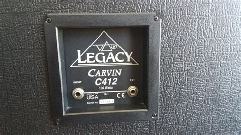 carvin legacy cabinet 4x12 carvin legacy c412t 4x12 slanted image 1751494