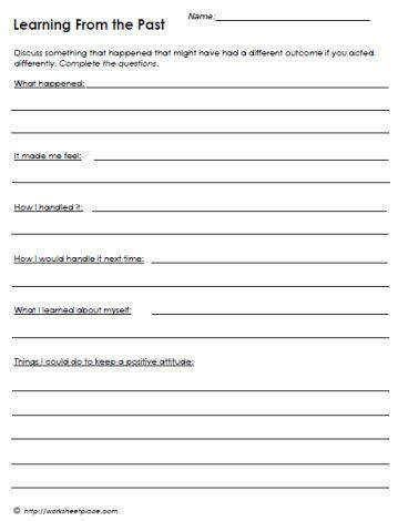 Marriage Counseling Worksheet  Kidz Activities