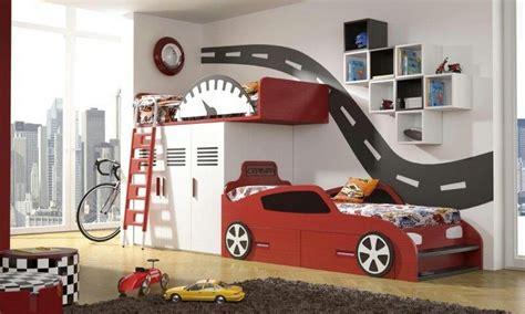 Kinderzimmer Junge Cars by Car Bunk Beds For Baby Bedroom Room Bedroom