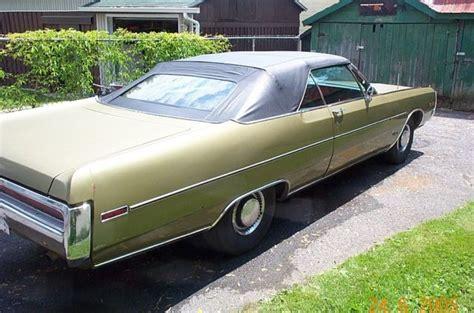 1970 Chrysler 300 Convertible For Sale by 1970 Chrysler 300 Convertible 440tnt Classic Chrysler