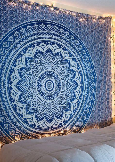 mandala pattern rectangle beach blanket fairyseason