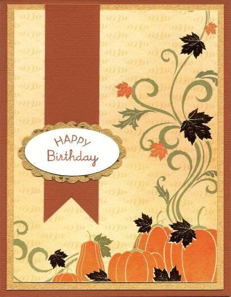 17 Best images about Handmade Cards Fall on Pinterest
