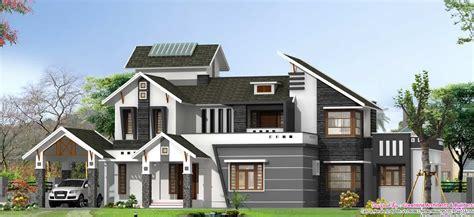 latest stylish bhk villa elevation   sqft
