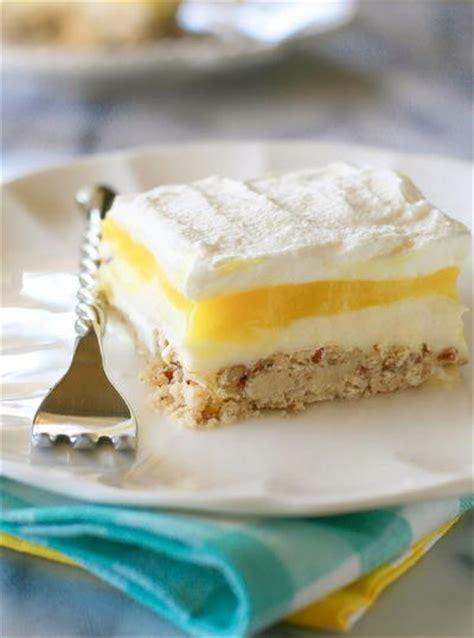 dessert recipes using cheese lemon lush recipelion