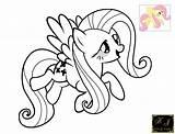 Butterscotch Fluttershy Coloring Template sketch template