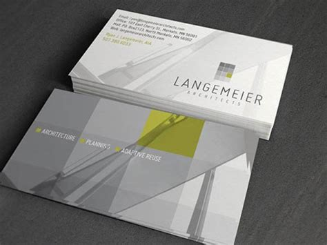 business card designs  architectures
