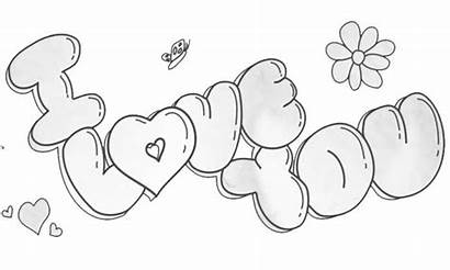 Bubble Letters Draw Drawing 3d Sketch Pencil