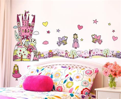 tickers chambre fille princesse stickers chambre fille stickers princesse 1 château de