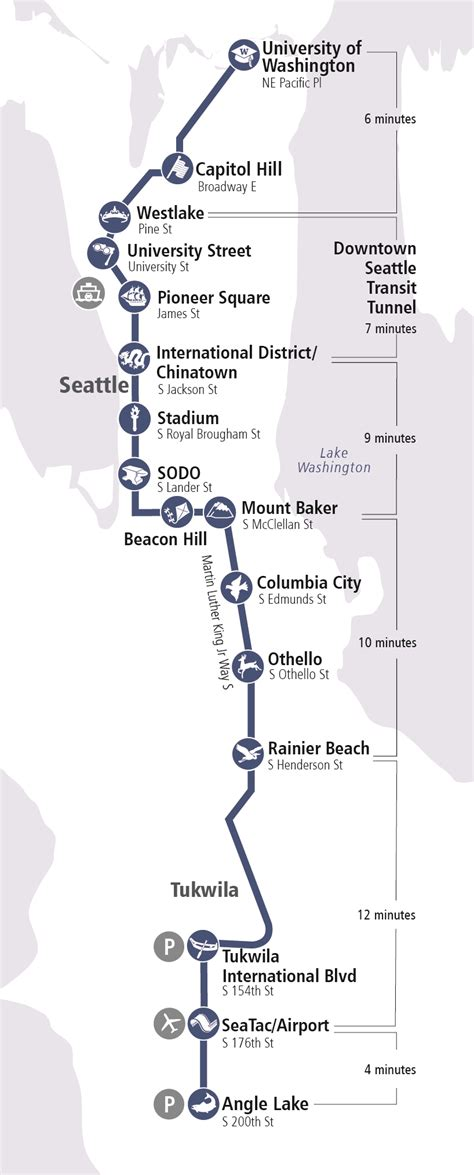 light rail map seattle link light rail 2017 event information with seattle rail