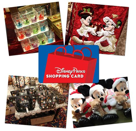 gifts for disney fans enhanced disney parks shopping card makes unique gift for