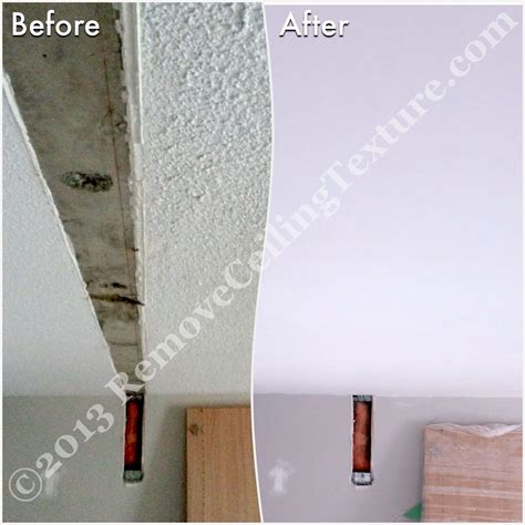 Scraping Texture From Ceilings Apartment At 1331 Homer