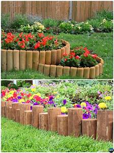 Creative, Garden, Bed, Edging, Ideas, Projects, Instructions
