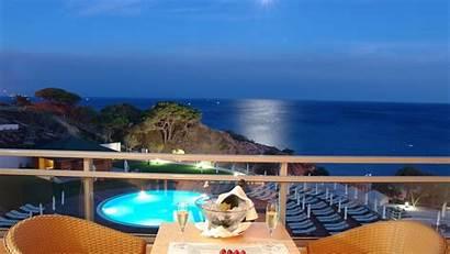 Vacation Sea Travel Summer Holiday Resort Evening