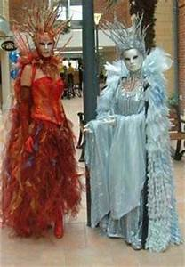 Fire and Ice costume inspiration. | Disfraces | Pinterest