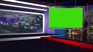 Virtual Set Background This News Set Is The Perfect ...