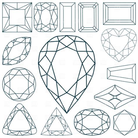 diamond vector   clip art  clip art