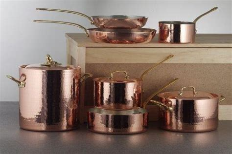 evolution  manufacturing methods hammered copper cookware  cladded copper core copper