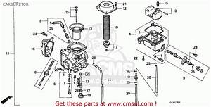 Honda Xr100r Carburetor Diagram