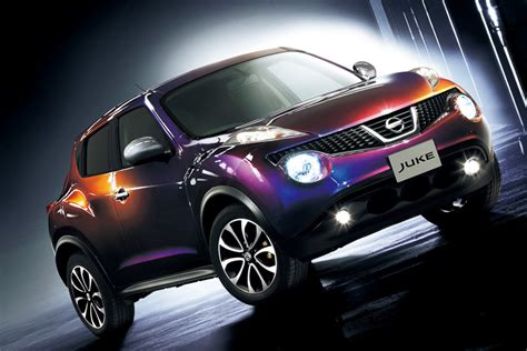 purple nissan juke japan nissan to launch dynamic color juke special edition