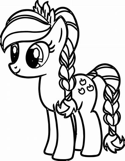 Pony Coloring Pages Printable Games Rarity Books