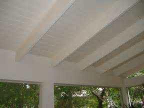 Screened In Front Porch Decorating Ideas by Best 25 Exposed Rafters Ideas On Pinterest