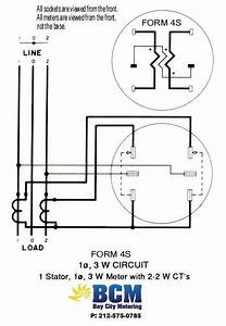 Form 2s Meter Wiring Diagram