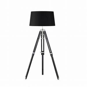 saxby lighting tripod base only floor 60w eh tripod flbl uk With dark wood floor lamp base