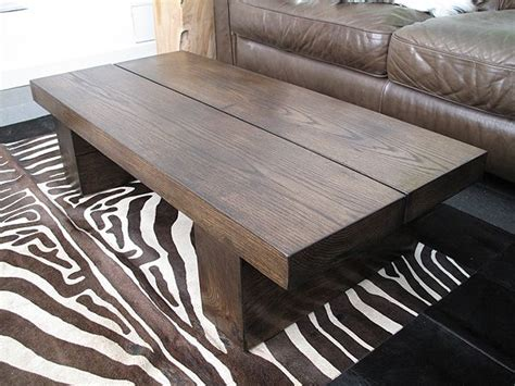 Next day delivery & free returns available. Our solid oak rectangular coffee table in the dark version ...