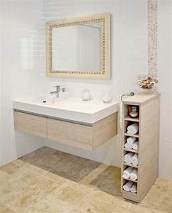 Meuble Range Serviette Salle De Bain : colonne salle de bain pensez exploiter l 39 espace ~ Teatrodelosmanantiales.com Idées de Décoration