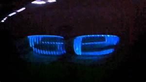 Bmw F10 Lights Bmw 335i Kidney Grille Led Lights Youtube